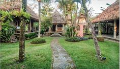 The inner courtyard - Sumara House Ubud, Unique private compound. -  - rentals