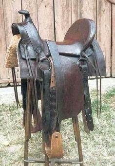 Saddle restored by Alain Eon