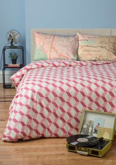 Made to Mesmerize Duvet Cover in Twin, @ModCloth