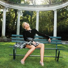 Miley Cyrus Models Fall Couture – Miley Cyrus Fall 2013 Couture Fashion Shoot - Harper's BAZAAR