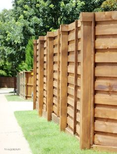 {The Backyard} A New Horizontal Fence