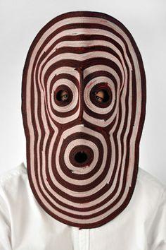 Wonderful masks by Bert Jan Pot Kasimir Und Karoline, Motifs Textiles, Colored Rope, Art Africain, Masks Art, Mask Design, Body Painting, Masquerade, Puppets