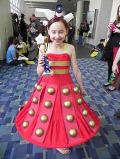 Dalek Doctor Who Cosplay, Dalek, Tree Skirts, Costume Ideas, Halloween Costumes, Christmas Tree, Holiday Decor, Fashion, Teal Christmas Tree