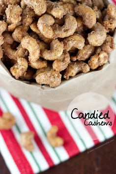 Blog post at Sweet as a Cookie : 'These candied cashews are perfect for those cold and chilly days.'   Once upon a time I went to New York City. Whilst there I had to hav[..]