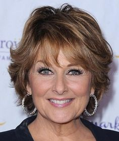short hairstyle for women over 60