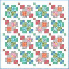 Urban Classics quilt - free pattern