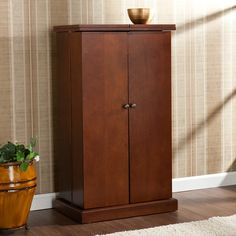 Found it at Wayfair.ca - Boswell Bar Cabinet with Wine Storage