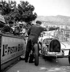 """Bugatti 51, 1933 Monaco GP. """"W Williams"""", was a Grand Prix motor racing driver and special agent who worked for the SOE inside France during WW2."""