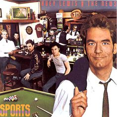 Huey Lewis and The News Sports – Knick Knack Records