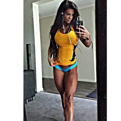 Strong and Athletic Women: Michelle Lewin
