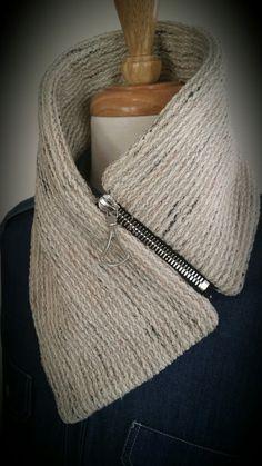 Knit, cashmere scarf
