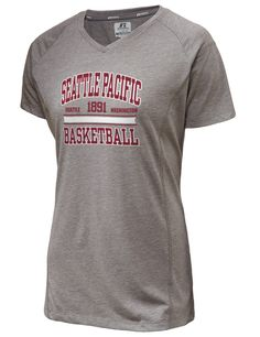 Seattle Pacific University Falcons Russell Athletic Women's Player's Performance T-Shirt