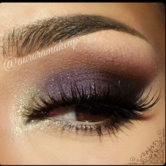 Smokey Eye for Hooded Eyes by Aurora G. Click the pic to see the products she used. #beauty #makeup #formal