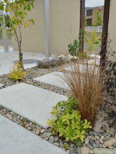 大きなウッドデッキのある庭|ナチュラルモダンスタイル・ダイワハウス|愛知の庭・外構デザイン|ティーズガーデンスクエア
