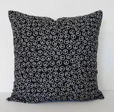 Peace Sign Pillow  $15