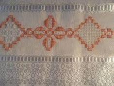 ponto reto - toalhabordado bargello o florentino ile ilgili görsel sonucu