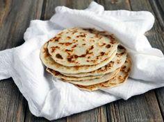 Receita de pão sem glúten indiano (naan) com 3 ingredientes - Comida de Verdade