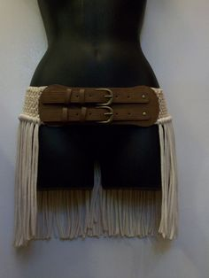 Hip wrap hip belt pixie skirt hooping skirt fringe belt by LamaLuz, $44.00