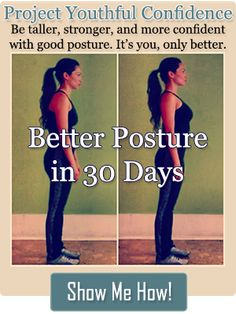 Better Posture in 30 Days Challenge -- Learn 90 exercises that promote good posture (Bad Posture Fix Simple) Posture Fix, Better Posture, Bad Posture, Improve Posture, Posture Exercises, Stretches, 90 Day Challenge, Workout Challenge, Step Workout