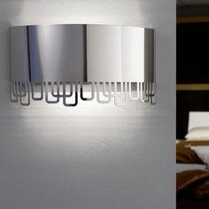 DESCUENTOS - OFERTAS - OUTLET Aplique moderno interior acero inoxidable. #iluminación #decoración