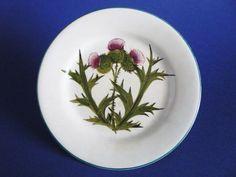 Wemyss Ware 'Thistle' Tea Plate c1900
