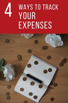 Are you trying to build your budget? Then, you should start with tracking your expenses first to understand where you're money is going. Follow me on my blog and find the four ways to track your expenses today.