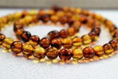 "Baltic amber, Amber necklace, Genuine Baltic Amber Adult Necklace 18.1"". Jewelry for Women,  Ladies Girls."