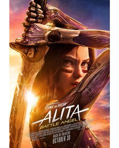 New Movie Posters, New Poster, Film Posters, Battle Angel Alita Movie, Dramas, Angel Movie, Anime Angel Girl, Film D, The New Mutants