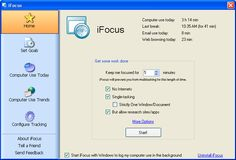 iFocus | Track and control how you use your computer