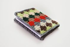 De Estraperlo: Tapestry crochet notebook, tutorial and pattern