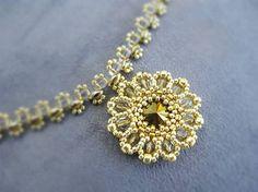 Ridgways / Golden rounds...náhrdelník