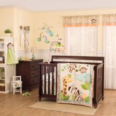 kidsline™ Carter's Jungle Play Crib Bedding Collection - buybuyBaby.com