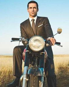 i don't watch mad men, but i like looking at jon hamm