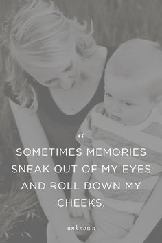 """Sweetest quote ever! """"Sometimes memories sneak out of my eyes and roll down my cheeks."""" Plus, 2 awesome photo-book services."""