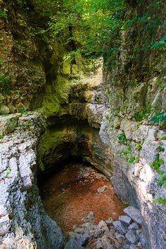 Walls of Jericho Hiking Trail, Alabama