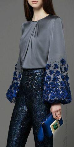 477a62b243e0 Подборка невероятных рукавов с фантастическим декором. — Мой милый дом Мода  Детали, Модный Дизайн