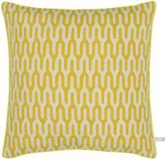 Ponti Yellow Cushion by Suzanne Sharp