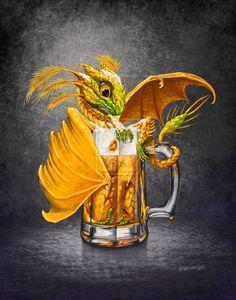 """Beer Dragon ~ Stanley Morrison aka """"SMorrisonArt"""""""