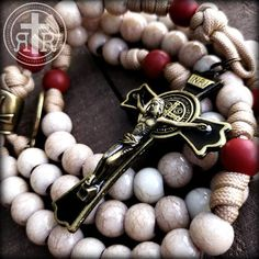 Rosary Beads for Sale, Men's Rosaries, Strong Rosaries, Military Rosary Rugged Rosaries® Praying The Rosary, Rosary Catholic, Paracord Rosary, Beads For Sale, Forging Metal, Mens Fashion Blog, Rosary Beads, Crucifix, Silver