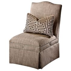 I pinned this Magnussen Sugar Hill Chair from the Amber Interiors event at Joss and Main!