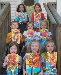 art projects with tiles for kids | ... .com - Paint Your Own Pottery - After School Art Classes for Kids