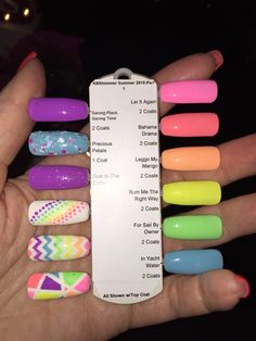 Summer 2015 nail polish from@kbshimmer