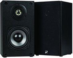 "Dayton Audio B452 4-1/2"" 2-Way Bookshelf Speaker Pair (Black) Dayton Audio http://www.amazon.com/dp/B00Q3MF9YQ/ref=cm_sw_r_pi_dp_iAlYwb05RD6TM"