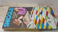 Sniggle, 1980, Vintage Board Game, Amway Game, vintage game by RandomGoodsBookRoom on Etsy