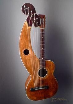 1912 Dyer Type 2 Style 5 - Harp Guitar Harp - Recherche Google