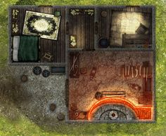 Dundjinni Mapping Software - Forums: Theran's Rest: Gardens & Quarters [WIP]