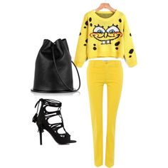 Untitled #222 by andreopoulouefi on Polyvore featuring Weekend Max Mara and Nly Shoes