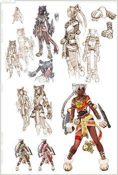 Talim (Soul Calibur 4) outfit concepts