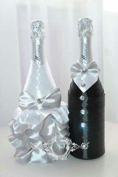 Resultado de imagen para botellas decoradas pinterest