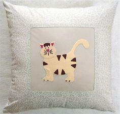 Kitty Cat Decorative Children's Pillow